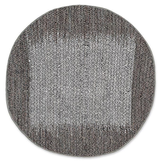 Alternate image 1 for Safavieh Vintage Leather 6' x 6' Logan Rug in Light Grey