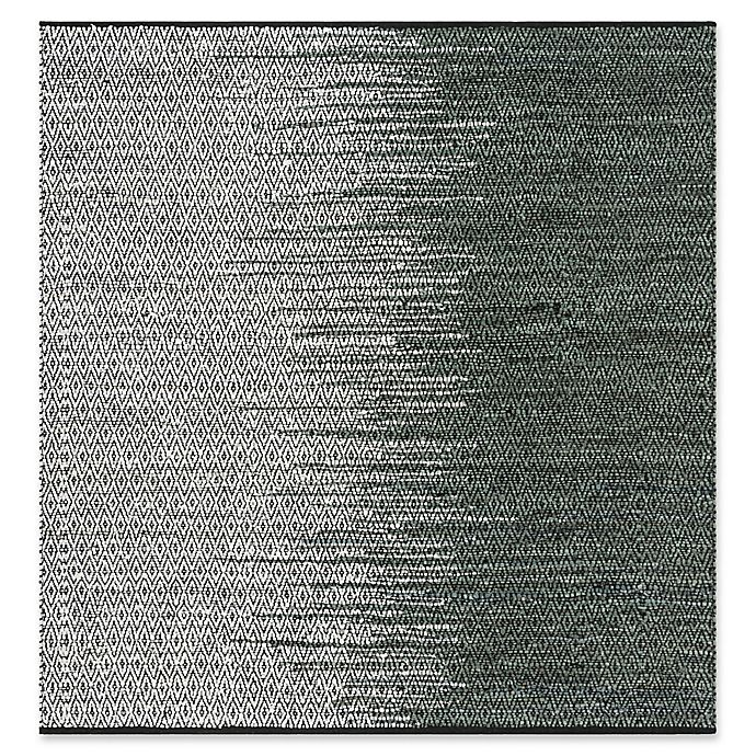Alternate image 1 for Safavieh Vintage Leather 6' x 6' Kinsey Rug in Charcoal