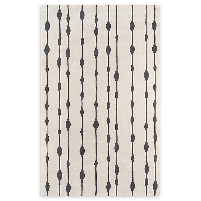 Alternate image 1 for Momeni Delhi Hand-Tufted 8' x 10' Accent Rug in Grey