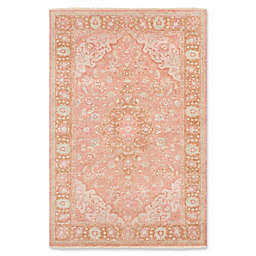 Surya Transcendent Hand-Knotted Area Rug in Classic Rose