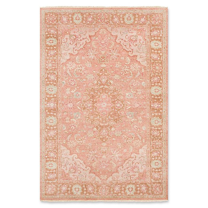 Alternate image 1 for Surya Transcendent Hand-Knotted 8'6 x 11'6 Area Rug in Classic Rose