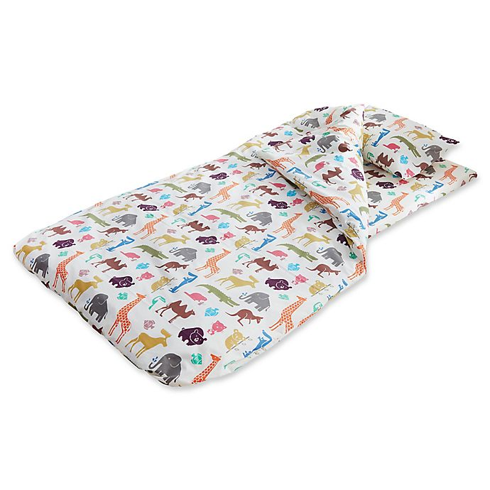 Alternate image 1 for Duvalay™ Kids Memory Foam Sleeping Bag and Duvet Cover in Dinky