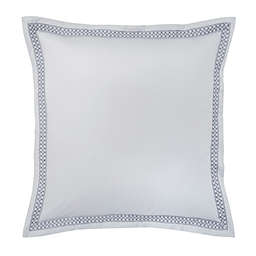 Flatiron® Gramercy Embroidered European Pillow Sham in Grey