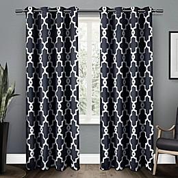 Ironwork 2-Pack Grommet Top Room Darkening Window Curtain Panels
