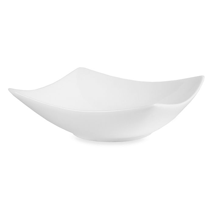 Alternate image 1 for Nevaeh White® by Fitz and Floyd® Hard Square Cereal Bowl