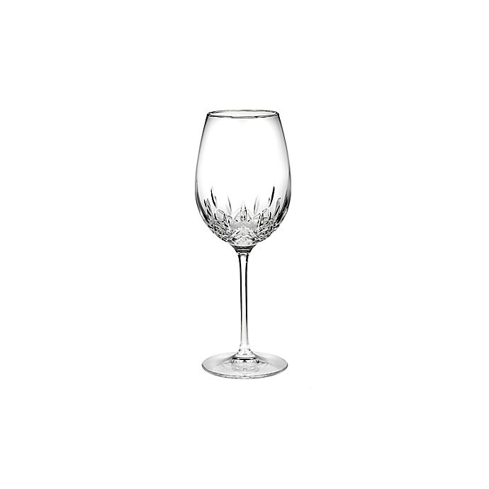 Alternate image 1 for Waterford® Lismore Essence Platinum Red Wine Glass