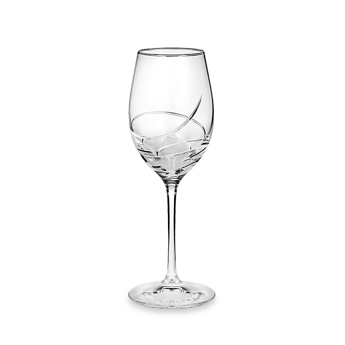 Alternate image 1 for Waterford® Ballet Ribbon Essence Platinum White Wine Glass