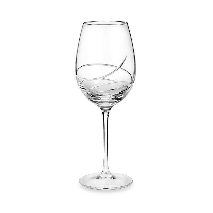 Alternate image 1 for Waterford® Ballet Ribbon Essence Platinum Red Wine Glass