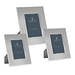 Waterford® Lismore Bead Silver 5-Inch x 7-Inch Frame