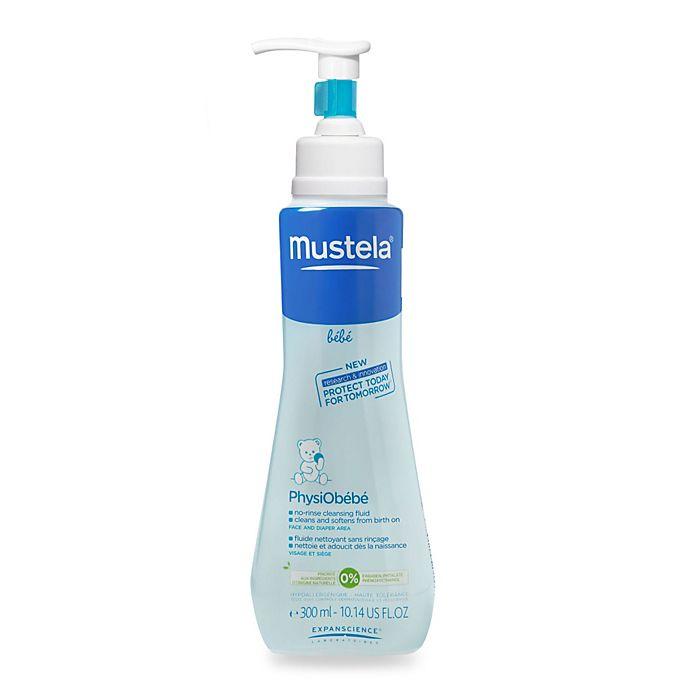 Alternate image 1 for Mustela® Bébé 10.1 oz. PhysiObebe® No-Rinse Cleansing Fluid