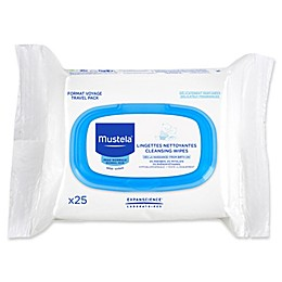 Mustela® Bébé Cleansing Wipes (25-Count)