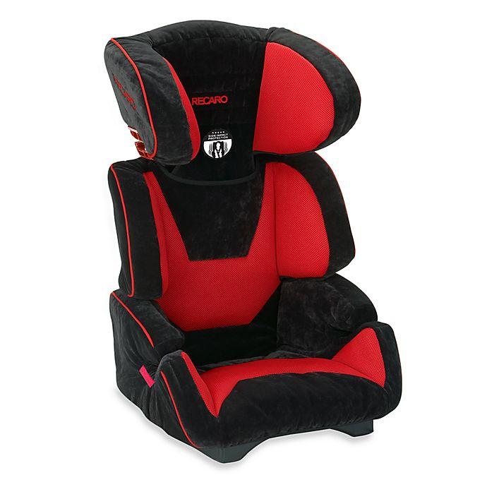 Recaro Vivo High Back Booster Child Safety Car Seat In Crimson Buybuy Baby