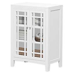 No Tools Glass Door Cabinet