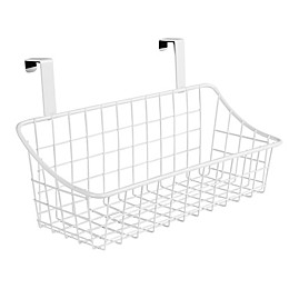 Spectrum® Steel Grid Over-the-Door Basket Collection