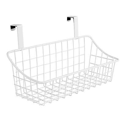 Spectrum® Steel Grid Over-the-Door Basket