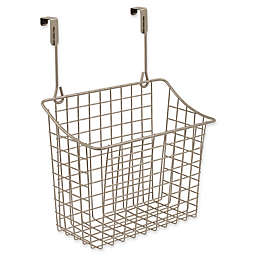 Spectrum Steel Grid Small Over-the-Door Basket