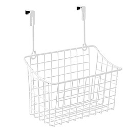 Spectrum Steel Grid Medium Over-the-Door Basket