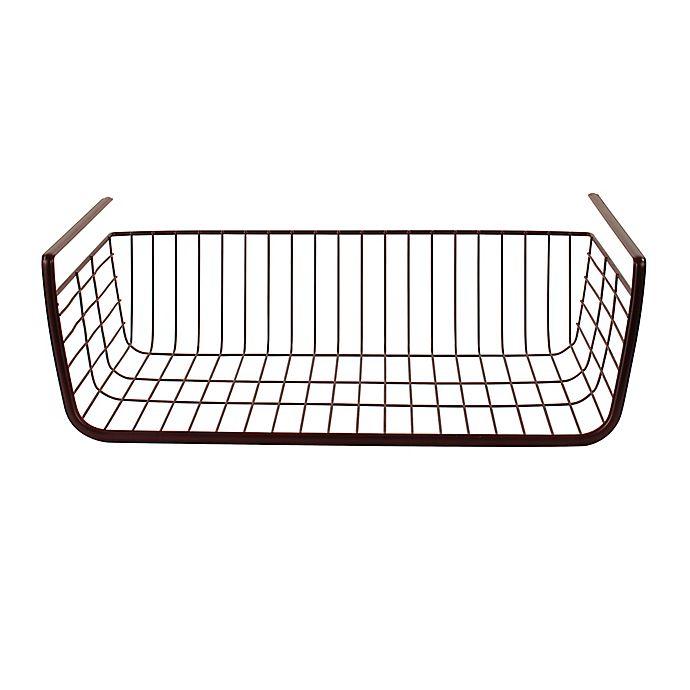 Alternate image 1 for Spectrum Steel Ashley Over-the-Shelf Basket