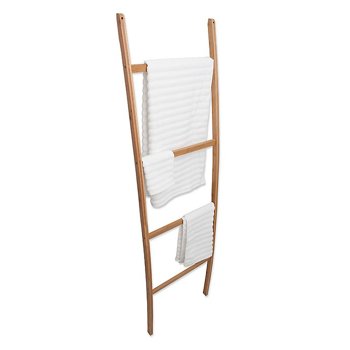 Alternate image 1 for Best Living Inc. Bamboo Towel Ladder