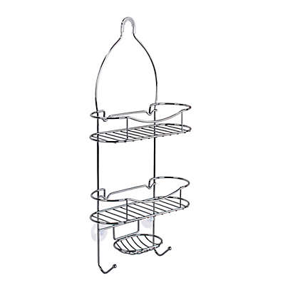 Lifestyle Home Beyond Value Steel Shower Caddy in Chrome