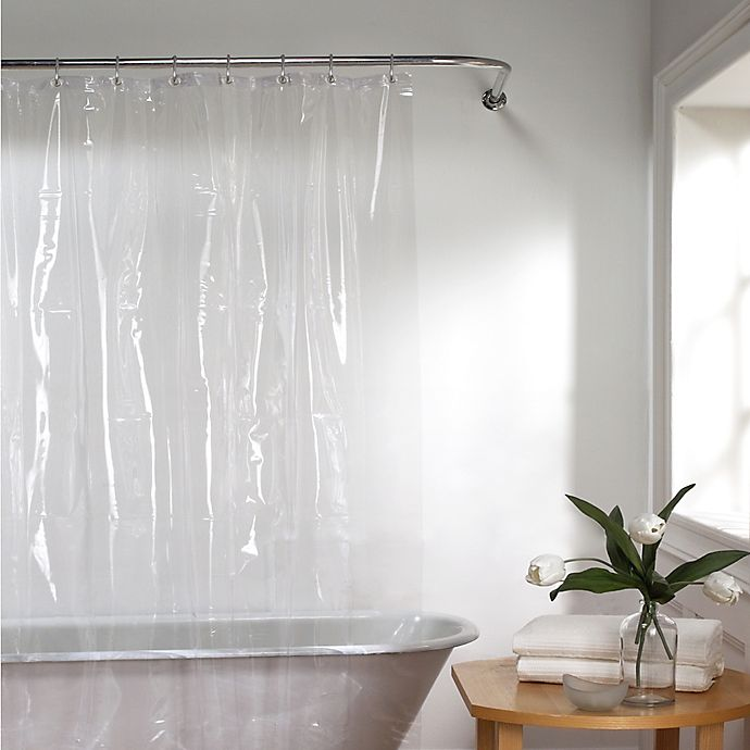 Alternate image 1 for Titan PEVA Clear 72-Inch x 84-Inch Shower Curtain Liner