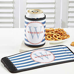 Anchors Aweigh! Can & Bottle Wrap