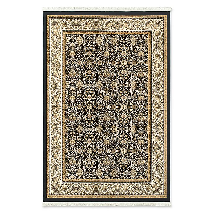 Alternate image 1 for Oriental Weavers Masterpiece Classic Floral 9'10 x 12'10 Area Rug in Navy