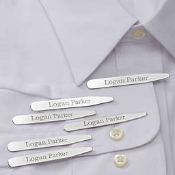 Classic Name Collar Stays (Set of 3)