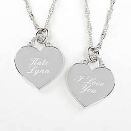 Custom Message Engraved Necklace