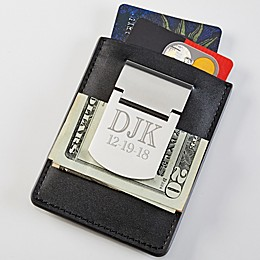 Zippo® Engraved Card Holder & Money Clip