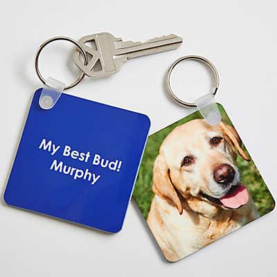 Pet Photo Keychain