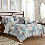 Kenton 9-Piece King Comforter Set in Blue