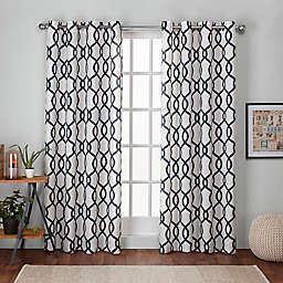 Kochi 2-Pack Grommet Top Room Darkening Window Curtain