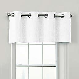 Quinn 100% Blackout Window Valance in White