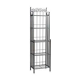 Southern Enterprises Celtic Baker's Rack
