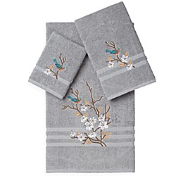 Linum Home Textiles SPRING TIME Embellished Bath Towels (Set of 3)
