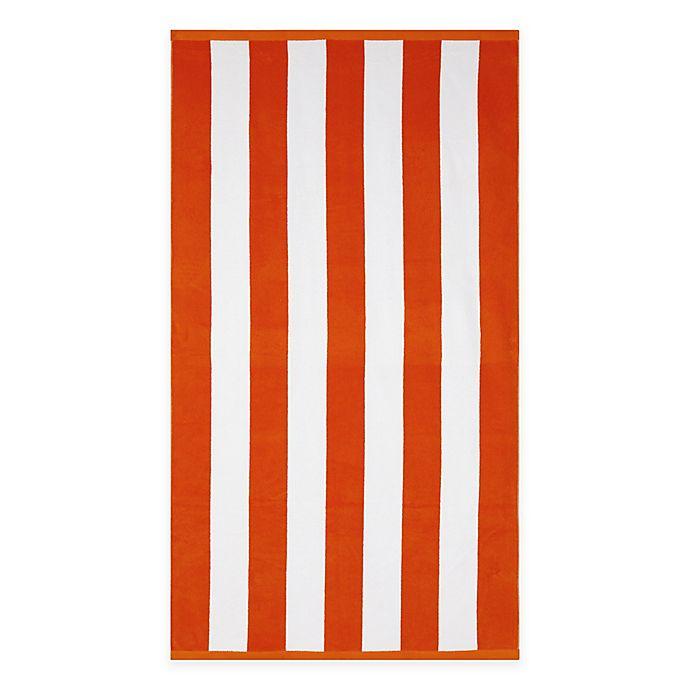 Alternate image 1 for Wamsutta® Resort Stripe Beach Towel