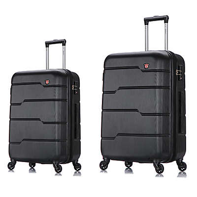 DUKAP® Rodez Hardside Spinner Checked Luggage