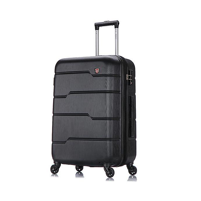 Alternate image 1 for DUKAP® Rodez 28-Inch Hardside Spinner Checked Luggage in Black
