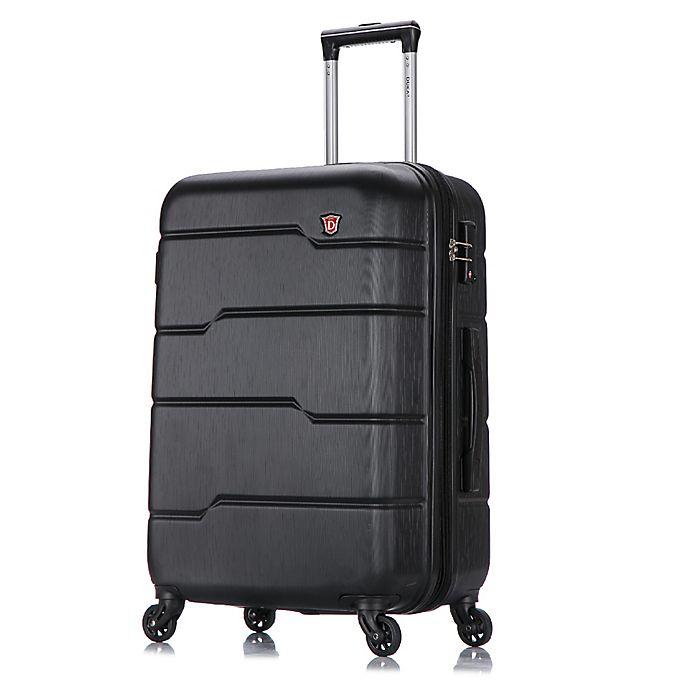 Alternate image 1 for DUKAP® Rodez 24-Inch Hardside Spinner Checked Luggage in Black