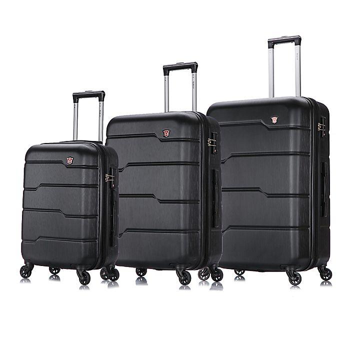 Alternate image 1 for DUKAP® Rodez 3-Piece Hardside Spinner Luggage Set