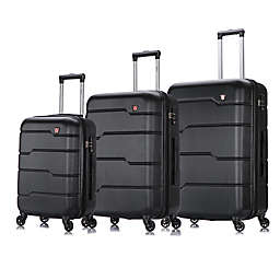 DUKAP® Rodez 3-Piece Hardside Spinner Luggage Set
