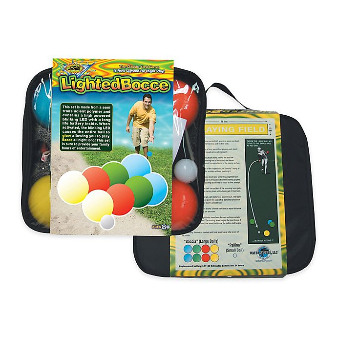 Alternate image 1 for Water Sports Lighted Bocce Set