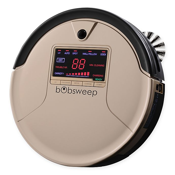 Alternate image 1 for bObsweep PetHair Robotic Vacuum Cleaner and Mop in Champagne
