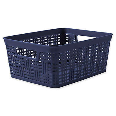 Starplast Plastic Wicker Storage Basket