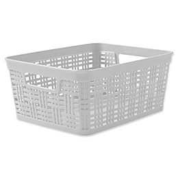 Starplast Plastic Wicker Storage Basket Collecton
