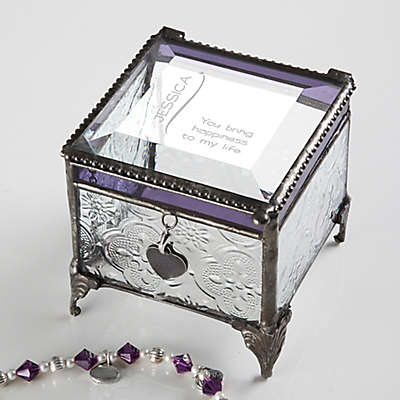 Vintage Clear Jewelry Box Collection