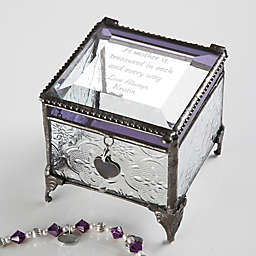 Vintage Treasures for Her Clear Jewelry Box