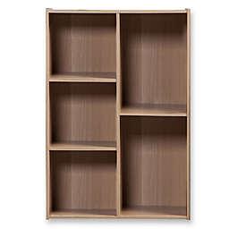 IRIS® Staggered 5-Compartment Storage Shelf
