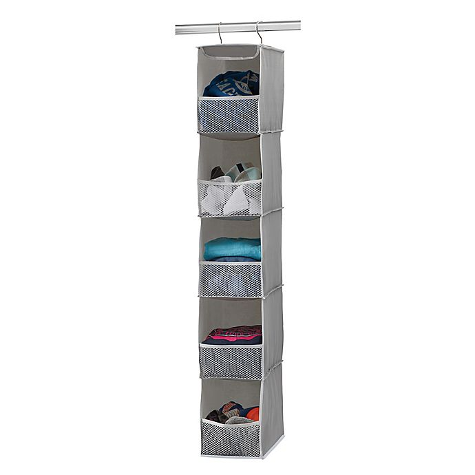 Alternate image 1 for Studio 3B™ 5-Shelf Hanging Sweater Organizer